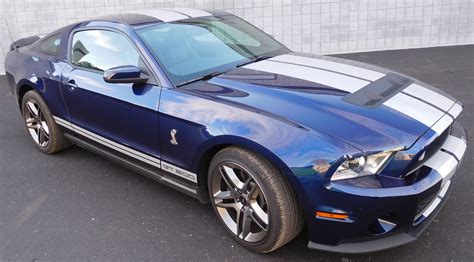 2011 Mustang Cobra Gt500 Blue/white For Sale