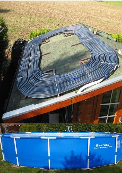 pool heizen mit holz poolheizung selber bauen solar