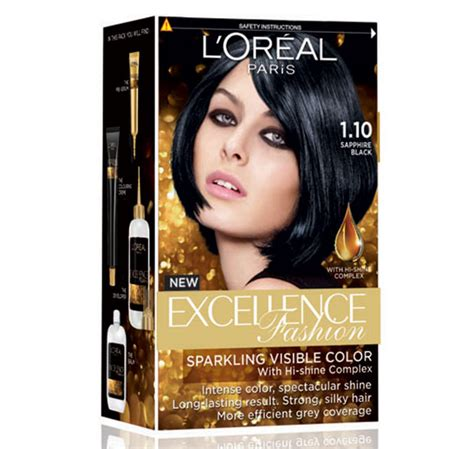 review loreal paris excellence fashion hair dye  home