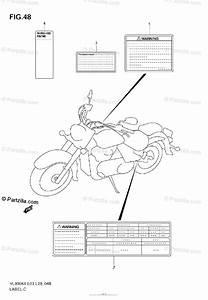 Suzuki Motorcycle 2009 Oem Parts Diagram For Label