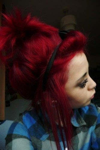 1000 Ideas About Vibrant Red Hair On Pinterest Red