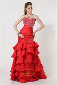 Cheap Mermaid Style Prom Dresses 2016,Red Mermaid Prom Dresses 2016,Re