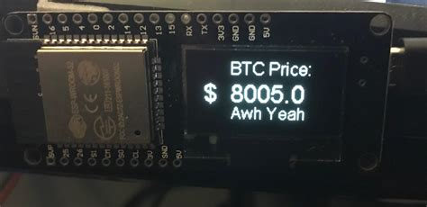 Crypto price trackers are platforms that monitor the prices of cryptocurrencies available for trading on crypto exchanges. Bitcoin price tracker for less than $10 no additional parts. Code in comments : Bitcoin