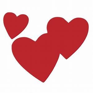 LV108 - Three Hearts Kiss Cakes