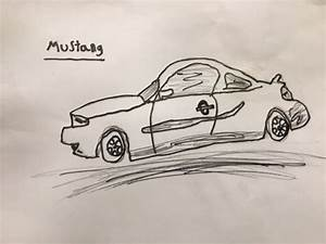 How to Draw a Ford Mustang: 9 Steps (with Pictures) - wikiHow