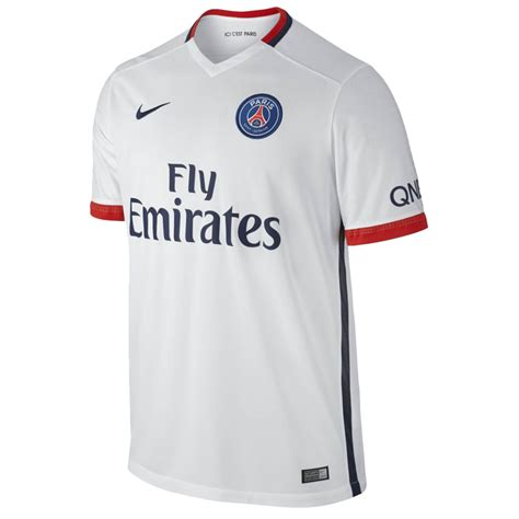 maillot jr psg ext 233 rieur 2015 16 nike styl foot
