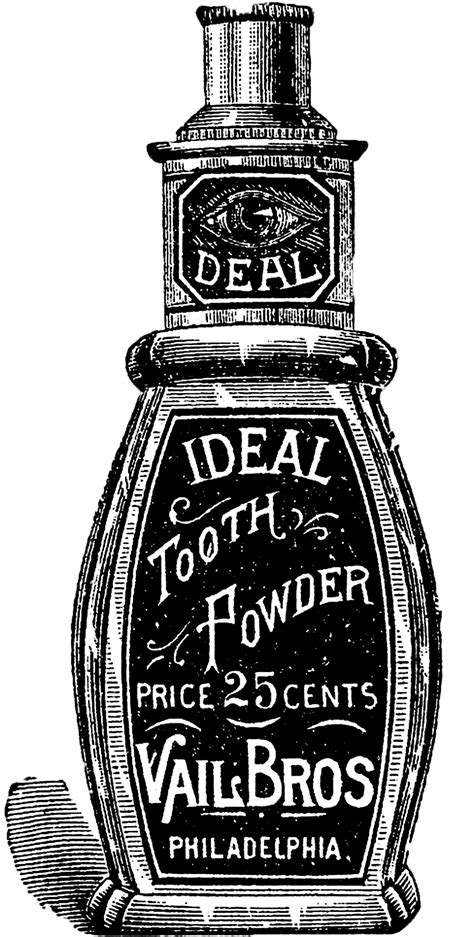 vintage images toothpaste graphicsfairy