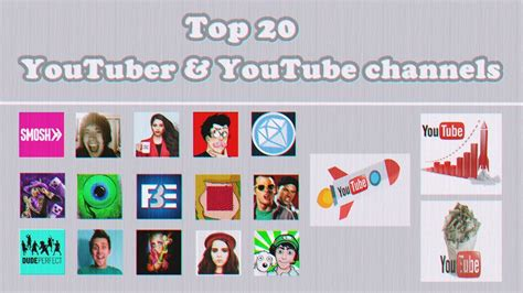 Top 20 Youtubers And Youtube Channels 2017 ! Richest And