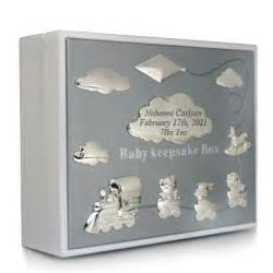 wedding clocks gifts 018874 baby keepsake box white things engraved