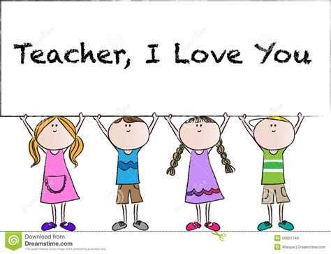 happy teachers day stock illustration image