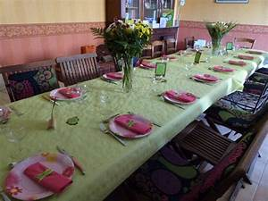 Décoration De Table Anniversaire : deco table 40 ans femme ~ Melissatoandfro.com Idées de Décoration
