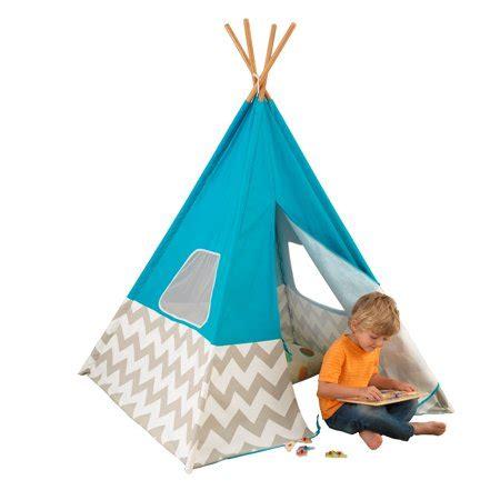 Tipi Kinderzimmer Kidkraft by Kidkraft Deluxe Play Teepee Turquoise Walmart