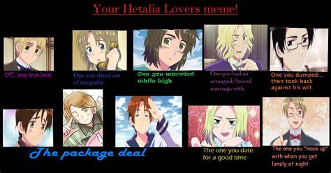 Lovers Meme - your hetalia lovers meme by lenkarii on deviantart