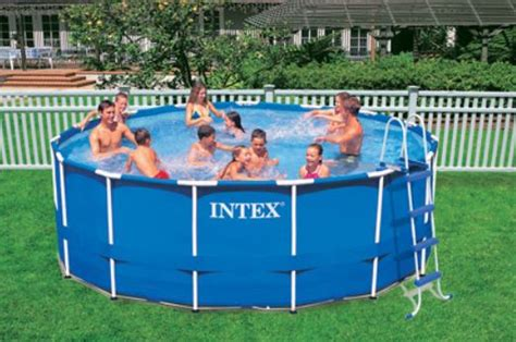 Intex 15′ X 48″ Metal-frame Swimming Pool