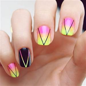 15 Stunning Neon Nail Designs to Rock Pretty Designs