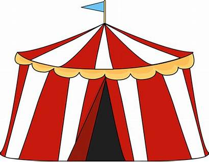 Circus Tent Clip Graphics Striped Flag