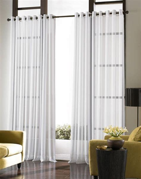 Sound Dening Curtains Three Types Of Uses by Ways To Use Sheer Curtains And Valences2014 Interior