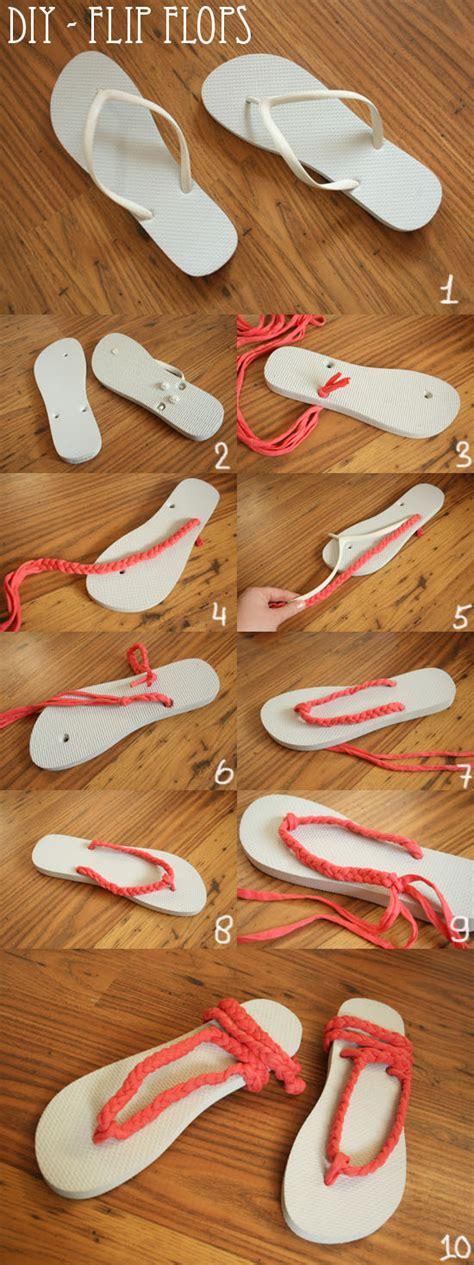 diy flip flops ideas