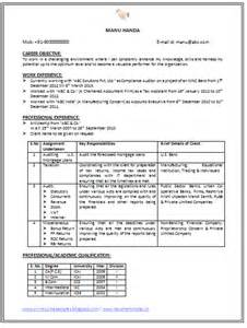 Mortgage Compliance Specialist Resume by Professional Curriculum Vitae Resume Template For All