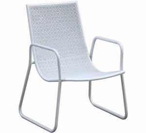 Chaise De Jardin Blanche : chaise de jardin ibiza blanche 29 salon d 39 t ~ Dailycaller-alerts.com Idées de Décoration