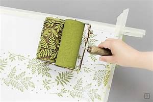 Tischdecke Selber Nähen Ecken : diy textildruck meterweise mit strukturwalzen zwo ste ~ Lizthompson.info Haus und Dekorationen