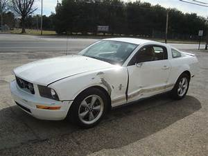2007 Ford Mustang V6 Shaker500 Salvage Rebuildable for sale