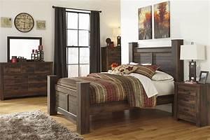 Quinden ashley bedroom set bedroom furniture sets for Ashley furniture 5 pc bedroom sets