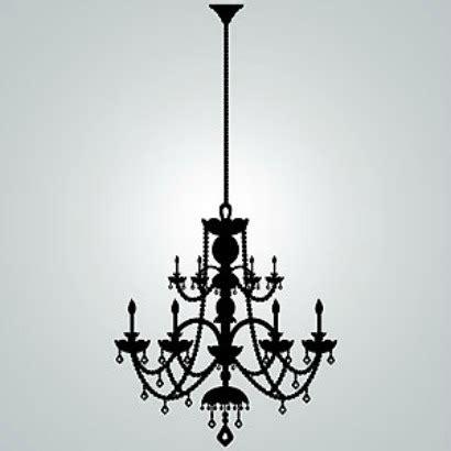 rhinestone chandelier vinyl wall decal gift ideas