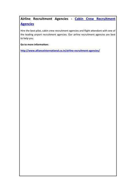 airlines recruiting cabin crew ppt airline recruitment agencies cabin crew