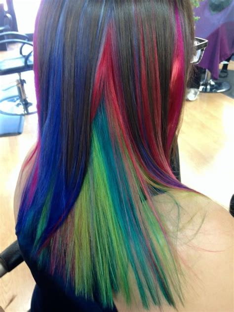 And doing it yourself can be a hassle if you're not prepared. Fun and Funky Fashion Hair Color by Bethany in Parker Colorado