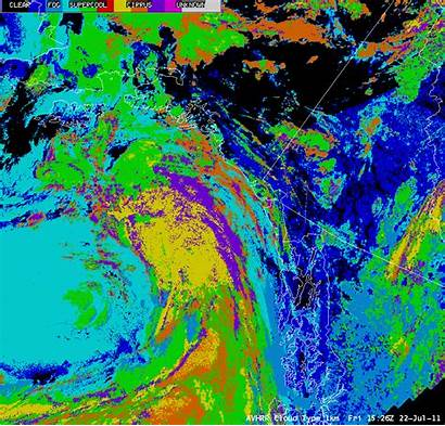 Cloud Height Type Avhrr Modis Poes Cimss
