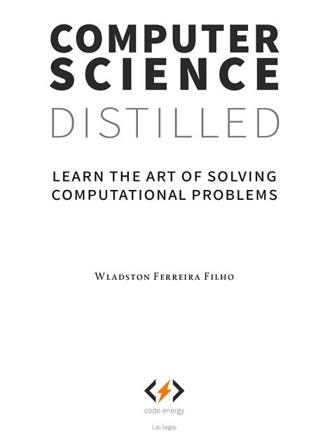 Download Computer Science Distilled Pdf Free