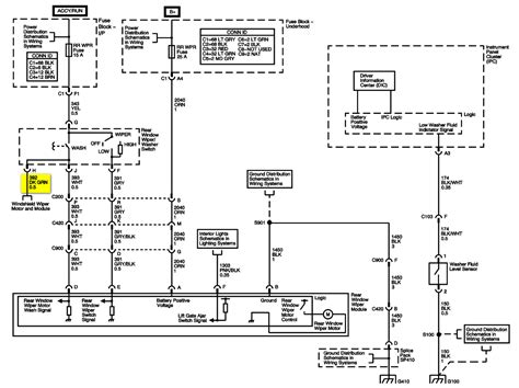 Hummer H3 Turn Signal Wiring Diagram by 2003 Hummer H2 Windshield Washer Motor Will Not Turn