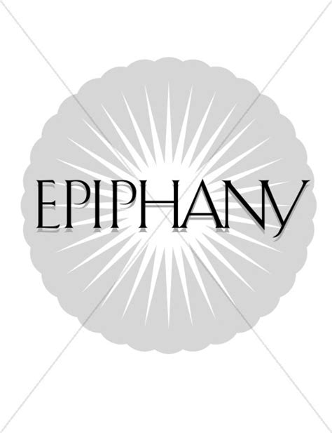 Epiphany and Star | Epiphany Clipart