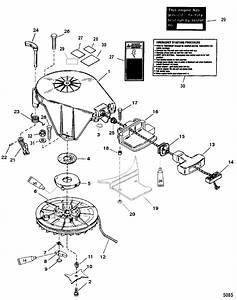Starter Assembly Manual For Mariner    Mercury 20  25  Jet 20