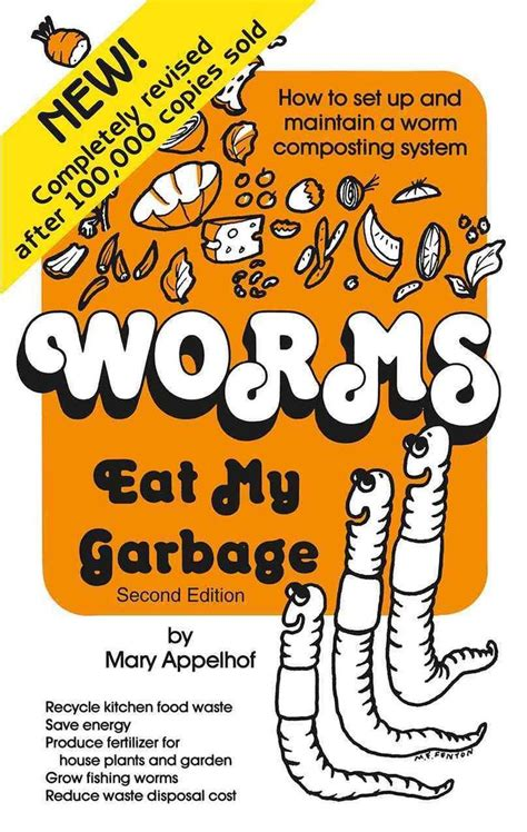 worm composting farm system worms eat garbage compost food diy maintain vermicomposting poster waste mary garden naturemoms overstock