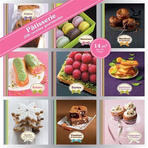 box cuisine patisserie livre coffret 9 mini livres pâtisserie 200 recettes