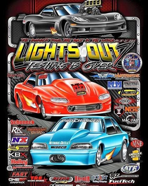 lights out 7 we re ready to race in the world series of lights out 7 we re ready to race in the world series of