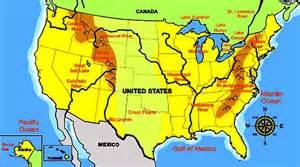 United States Mountain Ranges Map United States Physical Map - Mountains of the united states map