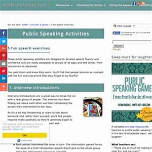 Public speaking assignments about essay writing public