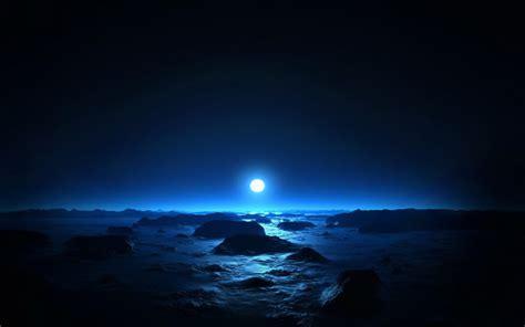 imagem de fundo lua azul imagens de fundo
