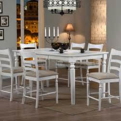 stonebridge counter height dining table antique white
