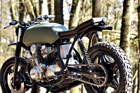 Honda Cb750 Scrambler By Left Hand Cycles