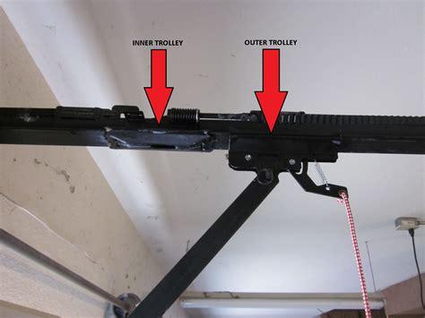Garage Door Opener Trolley by Trouble With The Handle Garage Door Repair Experts