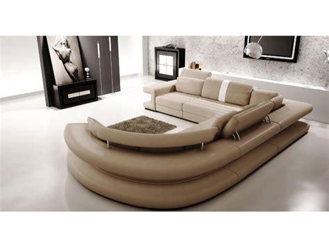 Canape Panoramique - canapé panoramique en cuir vancouver pop design fr
