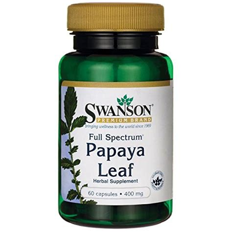 full spectrum l reviews swanson full spectrum papaya leaf full review does it