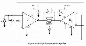 Bridge Power Audio Amplifier  U2013 Electronics Project