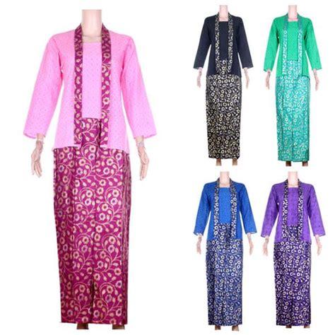 baju setelan kebaya embos rok batik prada ratna