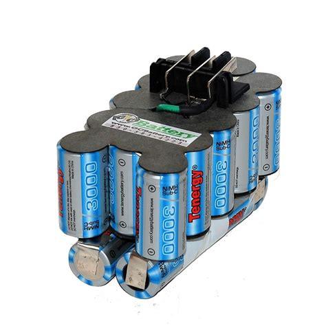24 volt batterie black decker 24 volt hpnb24 upgraded battery internals tenergy 3 0ah nimh ebay