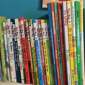 Our collection of Dr. Seuss books so far. Only a few were ...